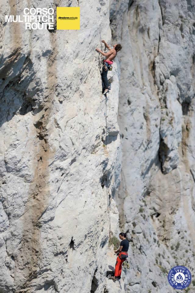 Corso arrampicata Multipitch Campania
