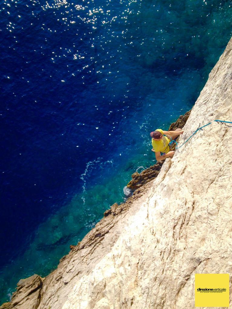Blu vie arrampicata punta campanella