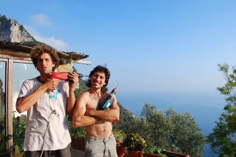 Adriano Trombetta e Cristiano Bacci alla Selva