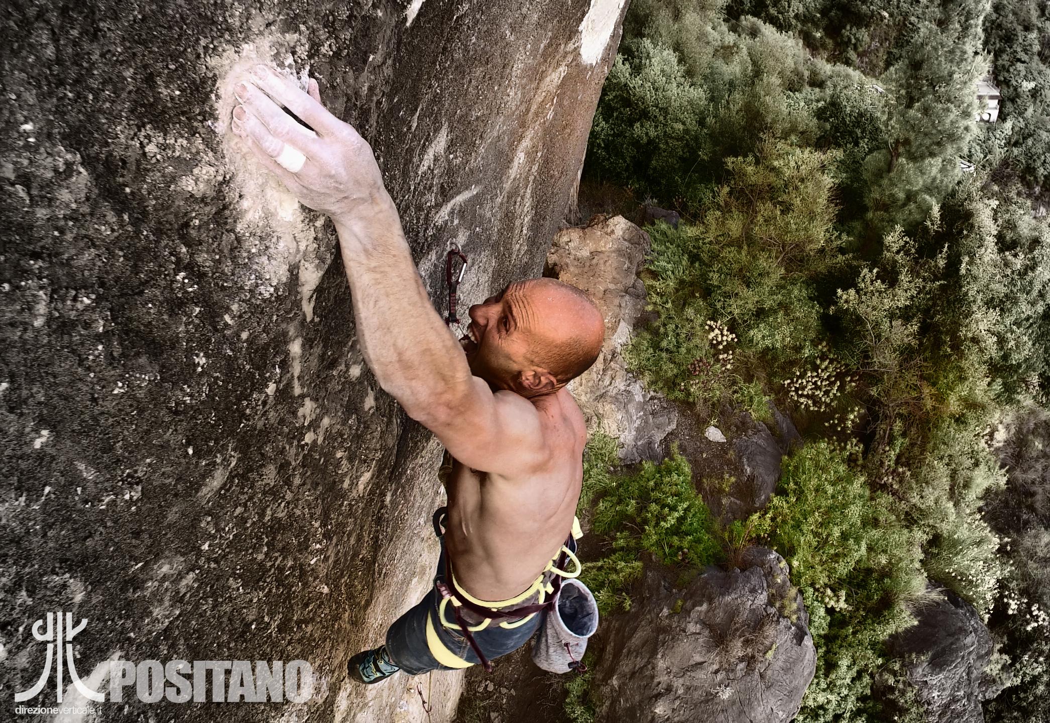 perrone positano arrampicata climbing guida alpina