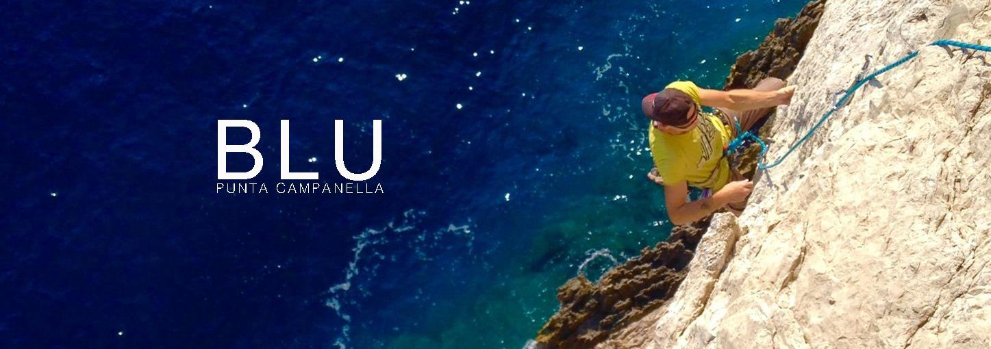 Blu – Multipitch Punta Campanella – arrampicata sorrentina