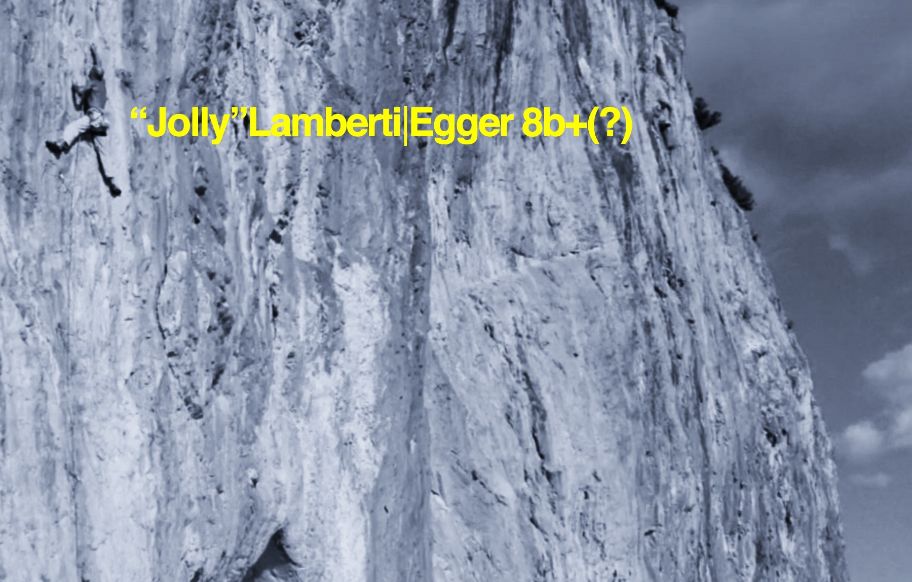 "Alessandro ""Jolly"" Lamberti on Egger 8b+(?) and his new book: Run Out"