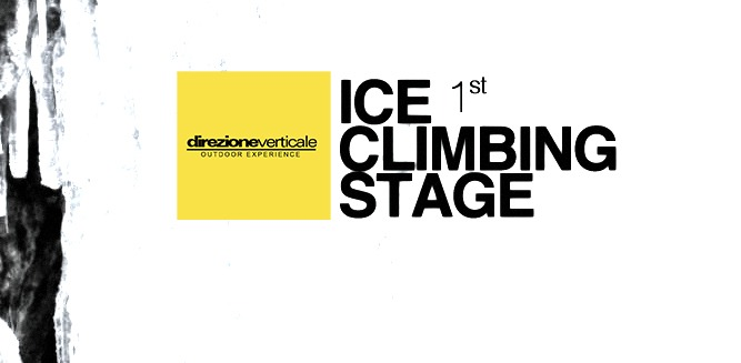 Stage ice climbing (ice falls)