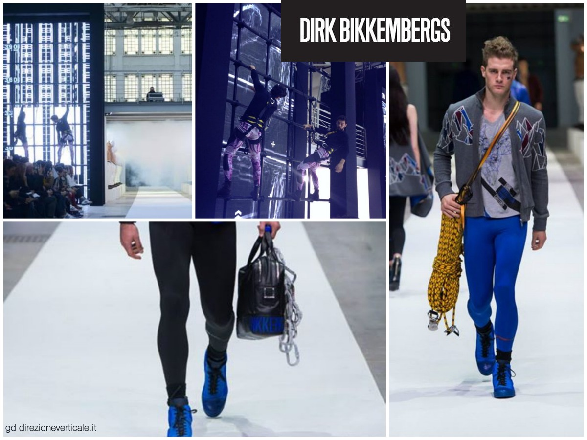Bikkembergs inspired by the climbing
