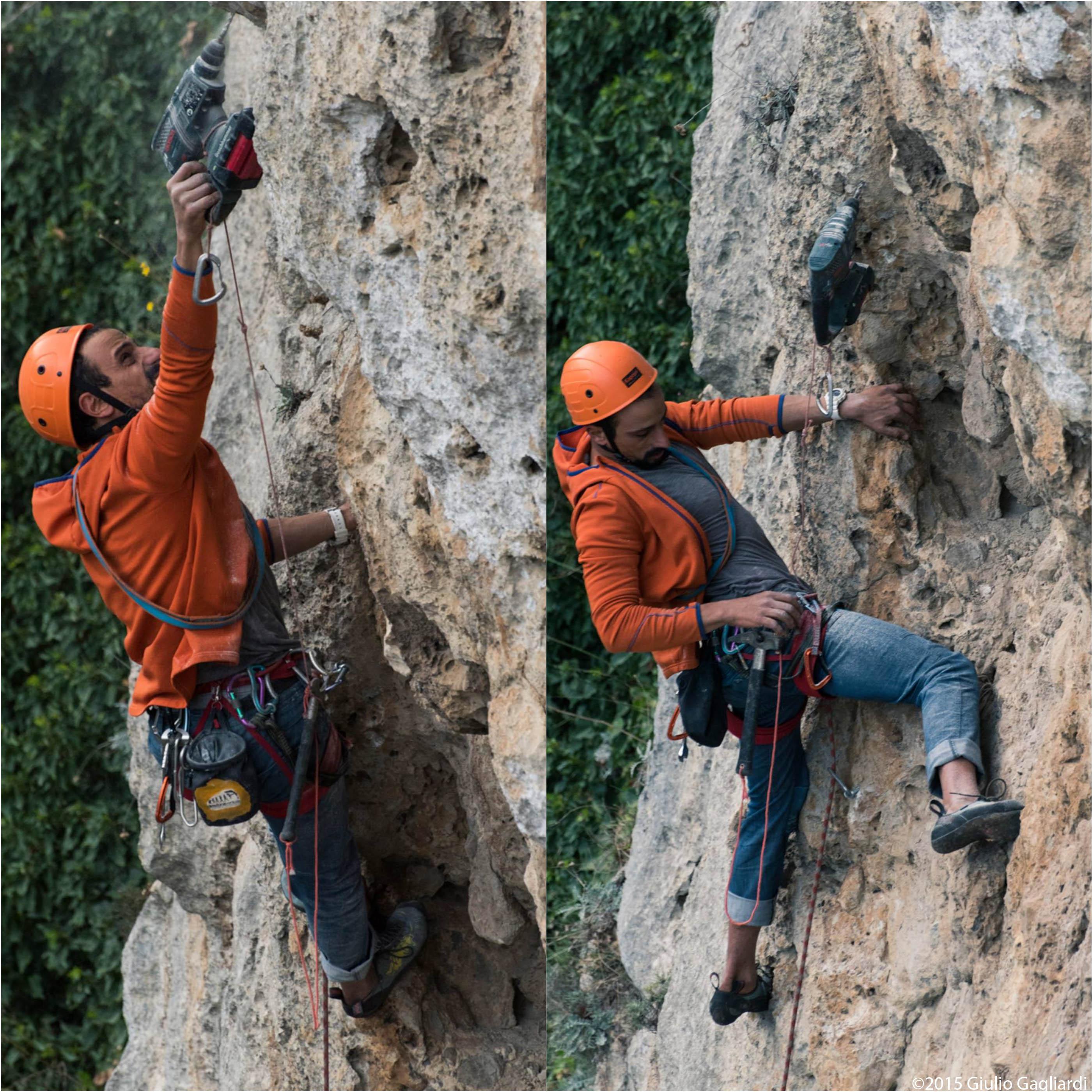 bolting chiodatura chiodare arrampicata climbing alpinism