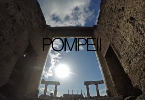 Pompei Ruins Naples Timelapse 4k Ultra HD