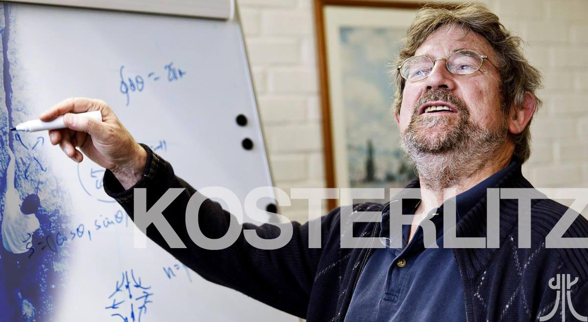 L'Arrampicata è Questione di Fisica. Mike Kosterlitz Premio Nobel