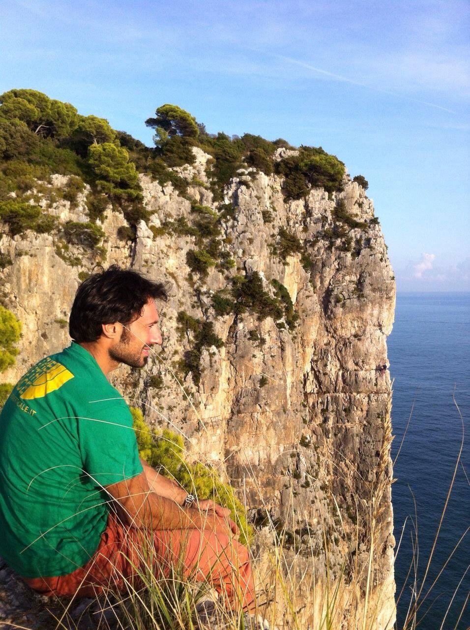 Adriano Trombetta e lo spigolo della Croce del Sud a Gaeta (Lt)