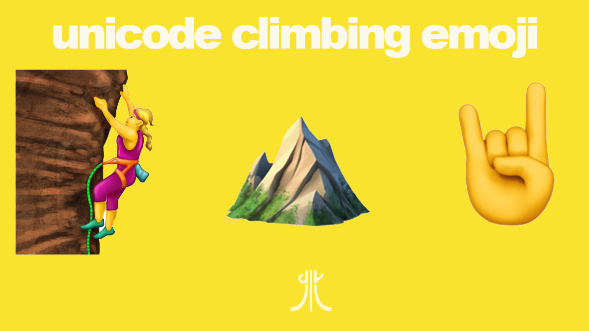 Climbing Emoji : le nuove Emoticon dedicate all' Arrampicata