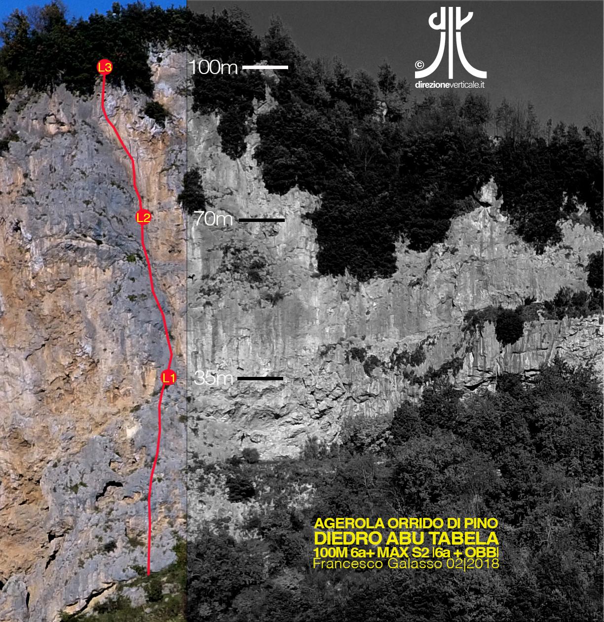 diedro abu tabela multipitch amalfi coast