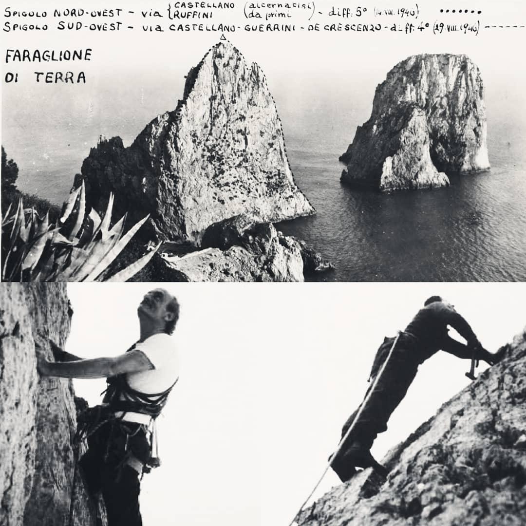 capri arrampicata spigolo sw castellano direzioneverticcale