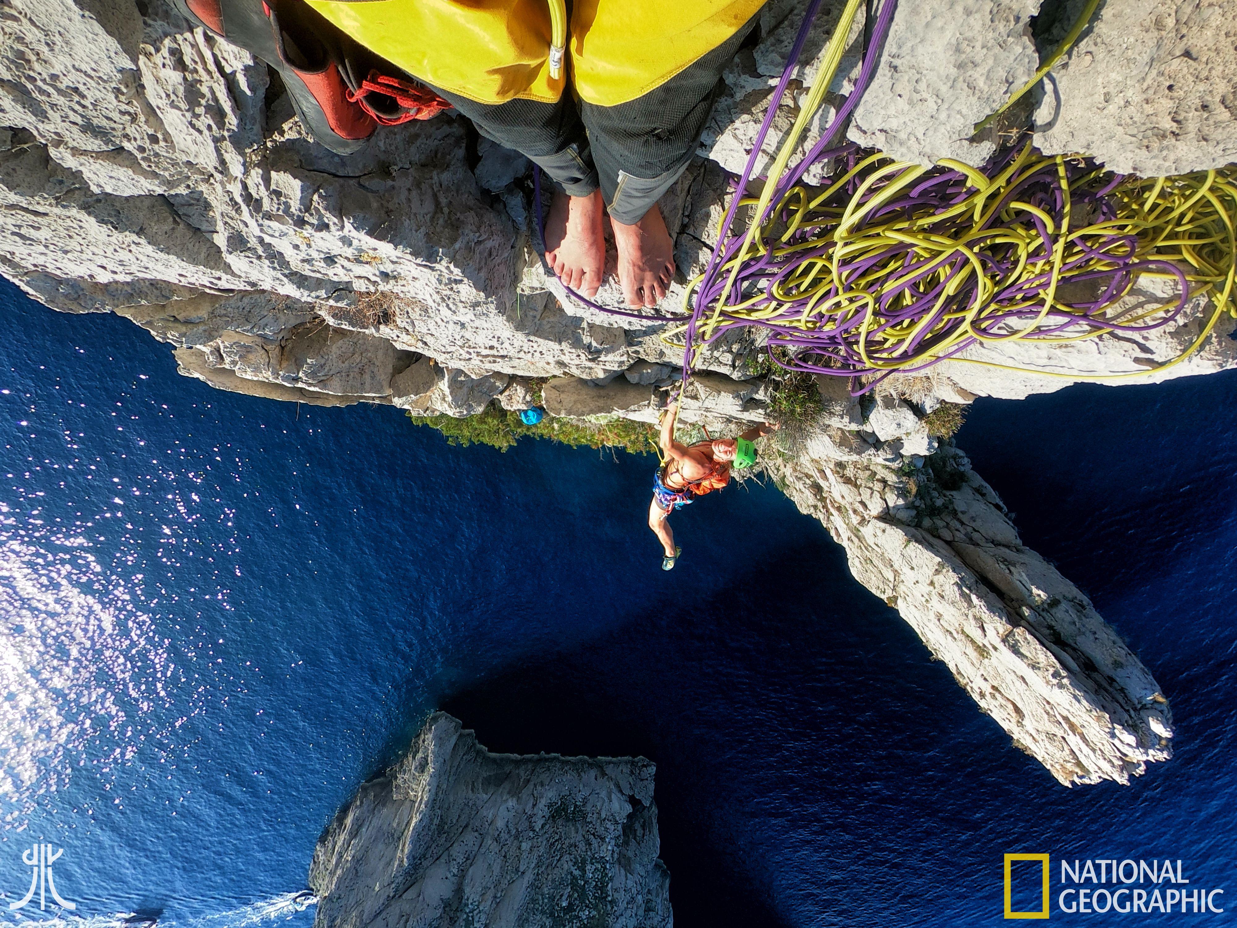 capri faraglioni national geographic direzione verticale spigolo terra climbing alpinismo