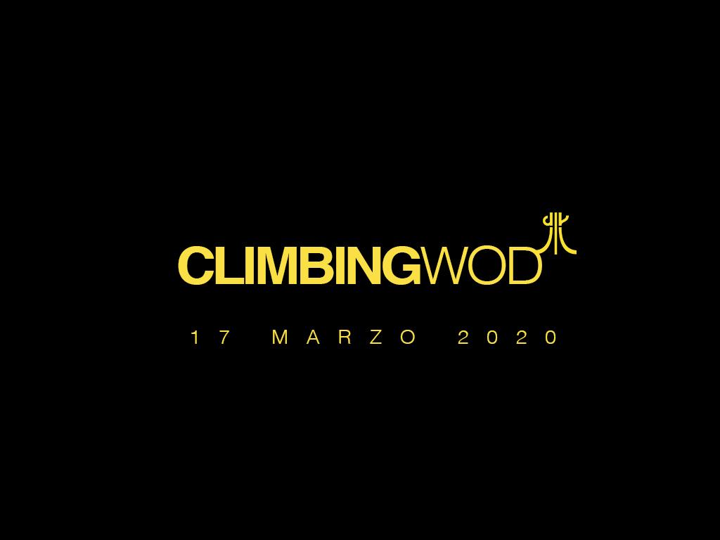 (Italiano) W.O.D. martedi 17 marzo 2020 – allenamento in casa per l'arrampicata