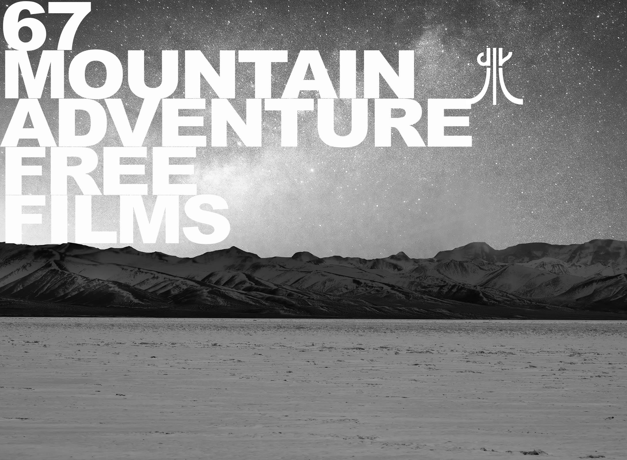 100 free film di avventura montagna concessi da Banff mountain film festival