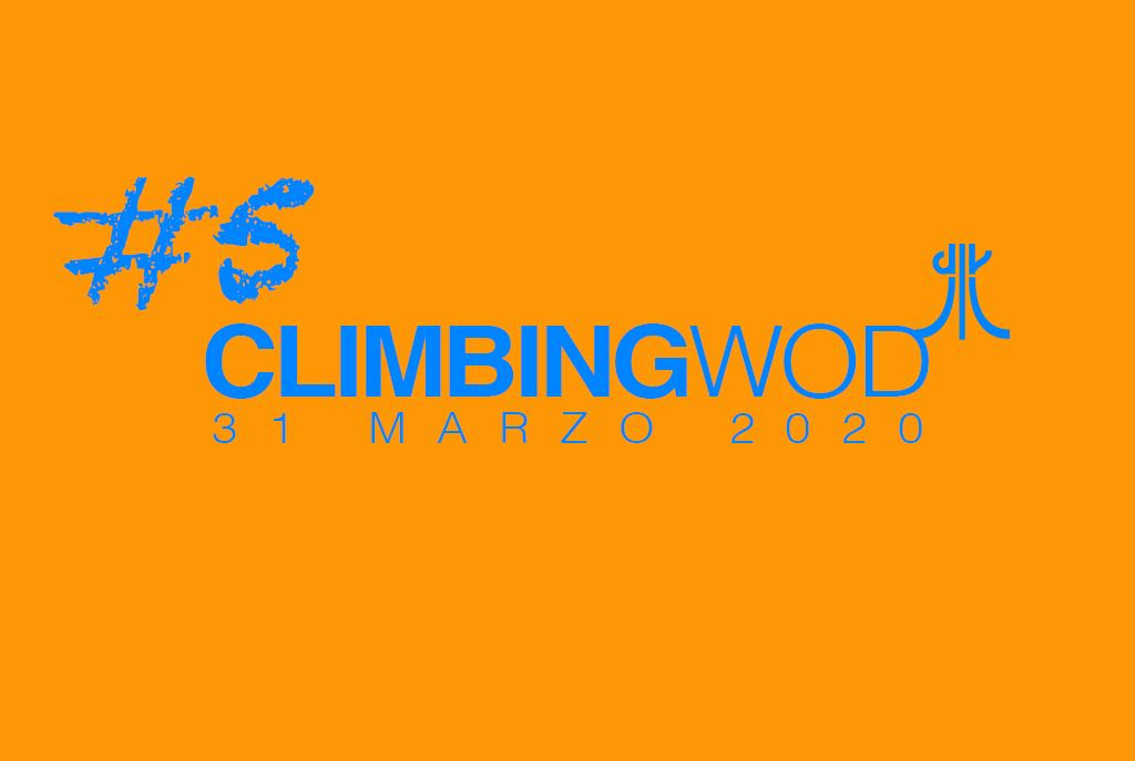 (Italiano) W.O.D. martedi 31 marzo 2020 – allenamento in casa per l'arrampicata