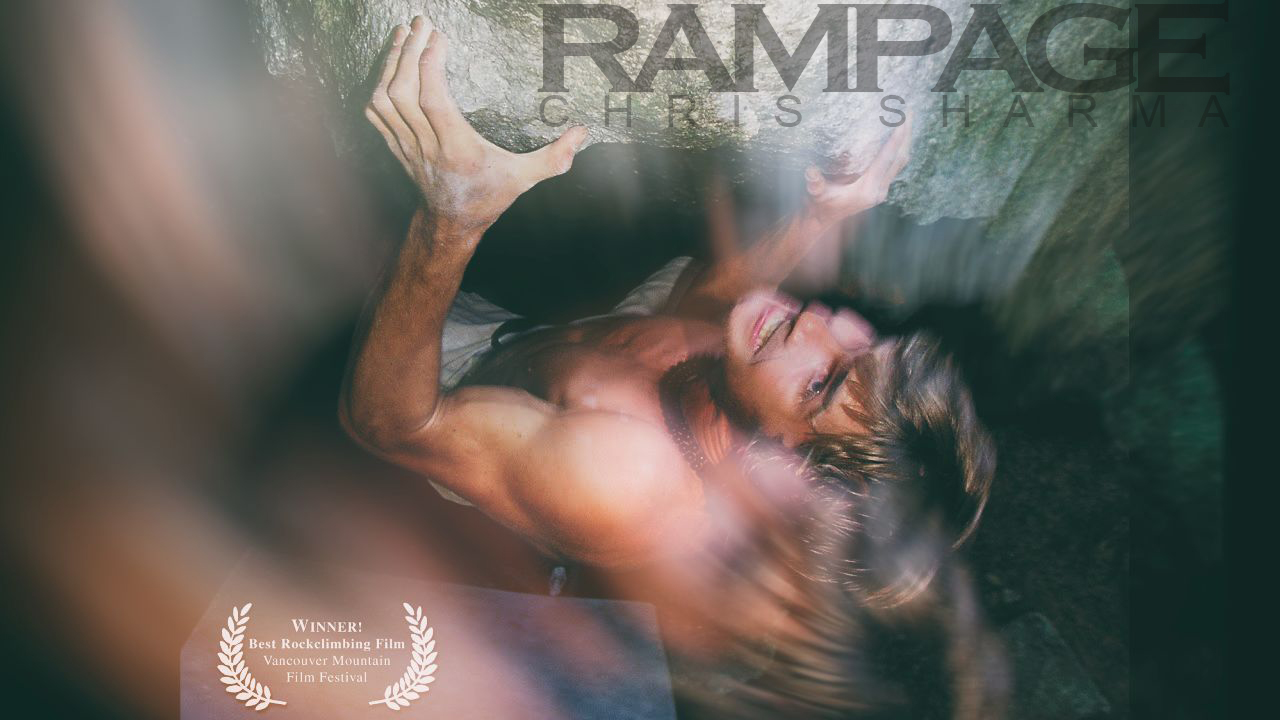 Rampage Chris Sharma bouldering in USA