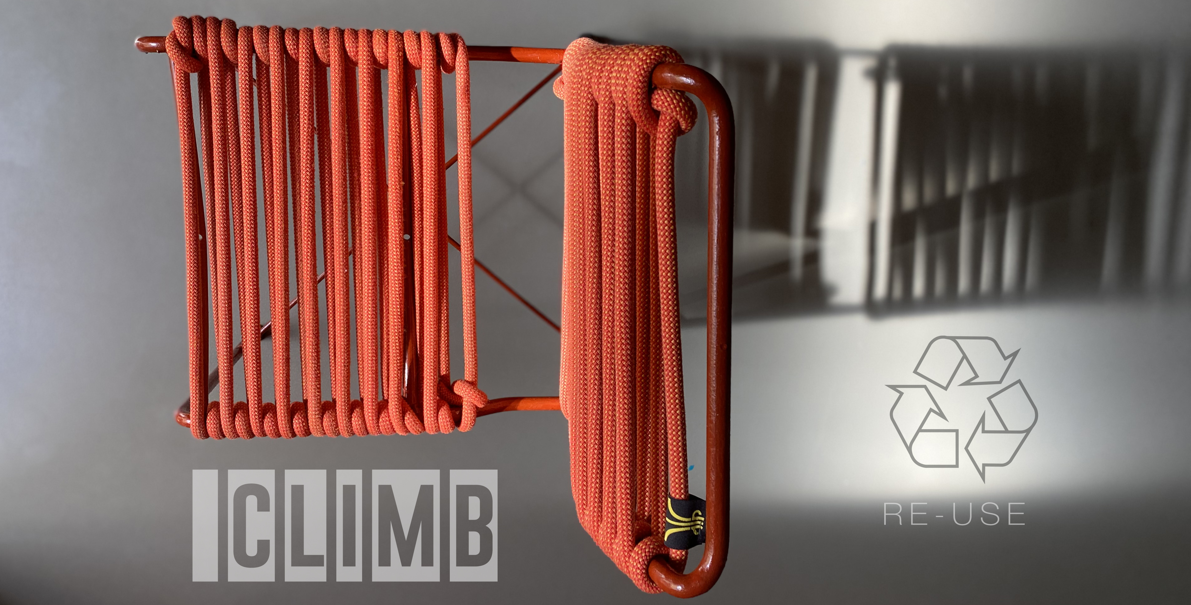 RE-cycling climbing ropes by DV and Francesca Natale Designer