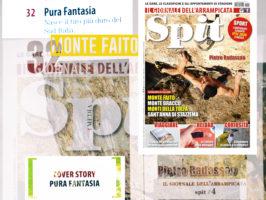 (Italiano) PURA FANTASIA 8C la via più dura...Andrea Sodano Per Spit Magazine