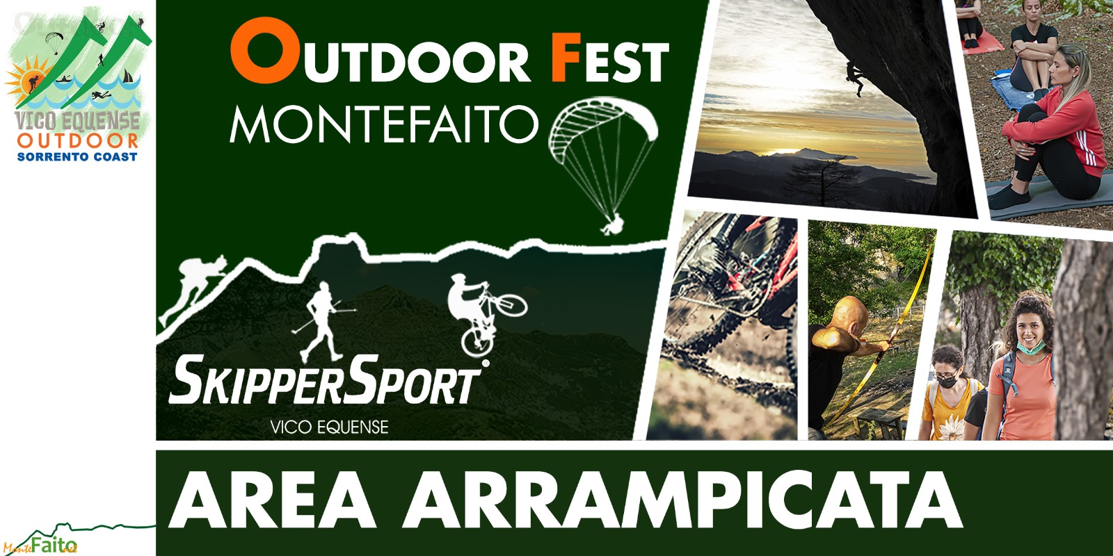 I Faito Outdoor Fest 18 e 19 Settembre 2021
